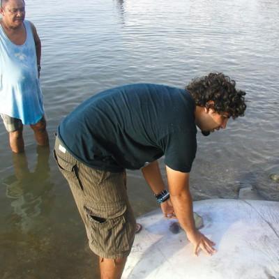 Rahul and Mola Mola